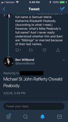Ben Willbond saying mike's full name.