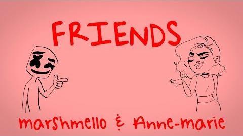 Video - Marshmello & Anne-Marie - FRIENDS (Lyric Video