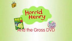 Horrid Henry and the Gross DVD
