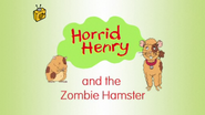 Horrid Henry and the Zombie Hamster