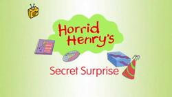 Horrid Henry's Secret Surprise