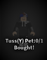 Tussy pet