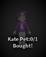 Kate pet