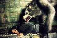 Brigitte Fitzgerald and Werewolf