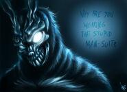 Frank the bunny fan art by nocturnalmoth-d33ddno