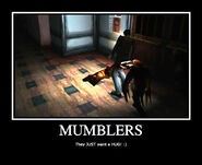 Silent hill mumblers demotivational poster by imadork007-d4jouwt