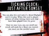 Ticking Clock: Just After Sunset (HrC033)