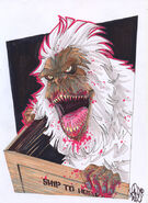 Creepshow crate monster by snareser