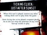 Ticking Clock: Just After Sunset (FSF2C)
