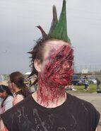 Punk Zombie by OliverLuke