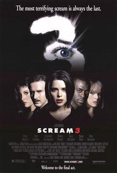 Scream3poster