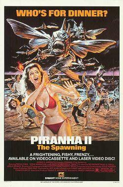 PiranhaII-poster
