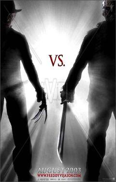 Freddy vs Jason teaser poster