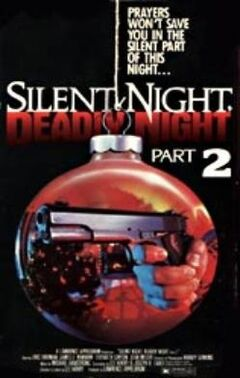Silent night deadly night part 2 (VHS cover)