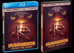 Humanoids from the deep dvd bluray covers
