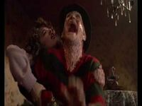 Nancy stabs freddy