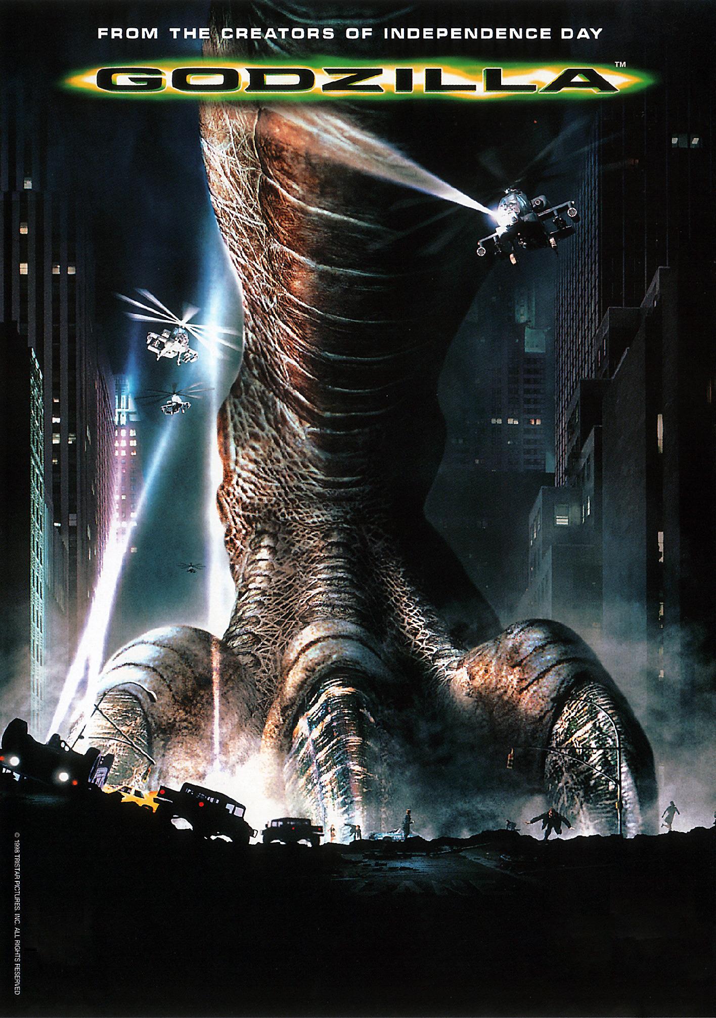 Image result for godzilla (1998 film)