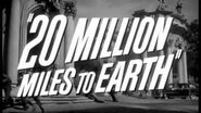 Movie Trailer - 20 Million Miles To Earth (1957)