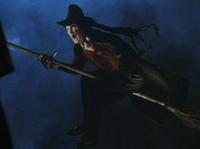Freddy as a witch