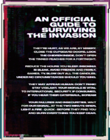 An Official Guide to Surviving the Invasion (2020)