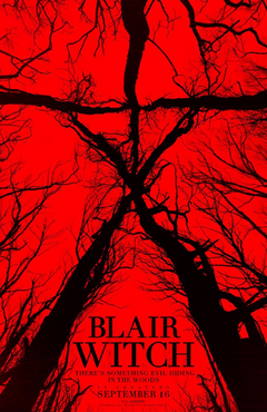 Blair Witch 2016 film poster