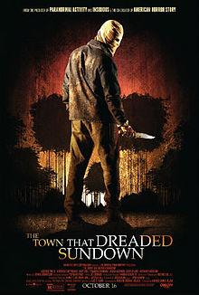The Town That Dreaded Sundown (2014 film) poster
