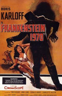 Frankenstein1970poster