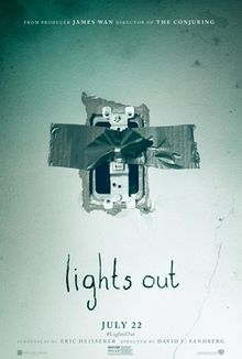 Lights Out 2016 poster