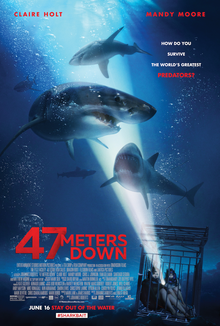 47 Meters Down (2017) Theatrical Release Poster