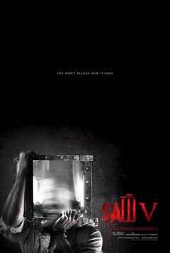 Saw V New Poster