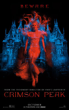 Official poster Crimson Peak