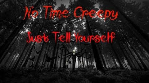 Creepypasta story Just Tell Yourself