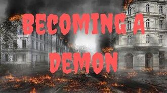 """Becoming A Demon"" By Raidra"