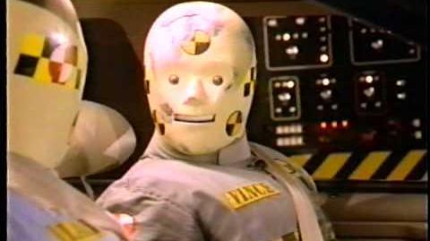 Crash Test Dummy Commercial