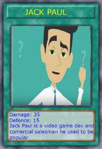 Jack paul card