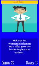 Jack pauls card