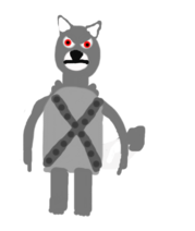 Eric the wolf