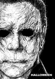 Хэллоуин (2018) Постер от Тодда МакФарлэйна