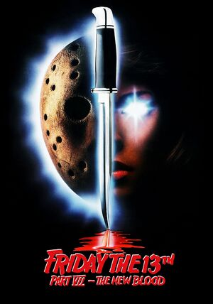 Friday the 13th Part VII - The New Blood theatrical poster