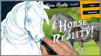 Horse Reality - The American Miniature Horse - Time Lapse Drawing!