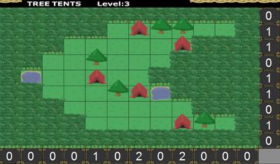 Tree Tents Big Forest Isle Level 3