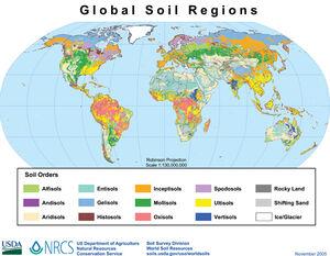 Global soil regions