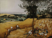 Pieter Bruegel the Elder- The Harvesters - Google Art Project