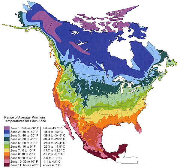 Climate Zone Maps | Horticulture and Soil Science Wiki | FANDOM