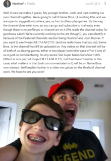 Game Bros announcement