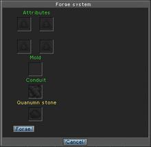 Systems fabrication window