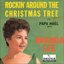 Single Brenda Lee-Rockin' Around the Christmas Tree cover