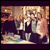 Gerrit, Carola, Patrick in Rotterdam