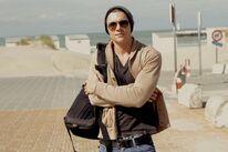 Gerrit at the beach