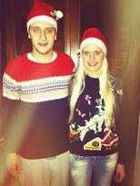 Hanna and Marcel Christmas